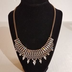 Bling statement necklace j278